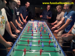 Fussballkasten in Action