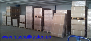 Fussballkasten Original verpackt für Versand in ganze Schweiz