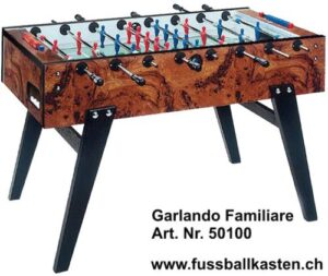 Tischfussball Garlando  Familiare  in Top Qualität