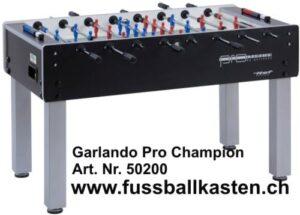 """Produktinformationen """"Pro Champion ITSF"""" Der Garlando Pro Champion ITSF ist der offizielle Trainingstisch, für internationale Wettbewerbe der Kategorie Pro Tour."""